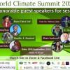 विश्व जलजायु सम्मेलन आजबाट शुभारम्भ हुने